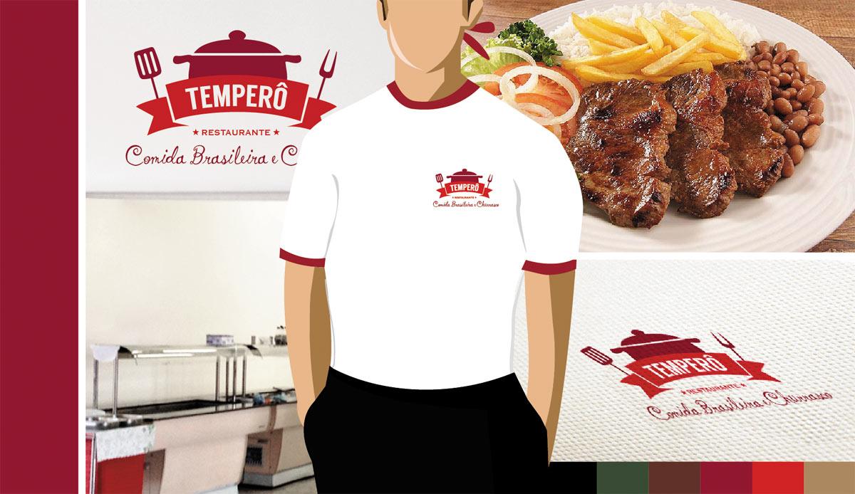 identidade visual Temperô
