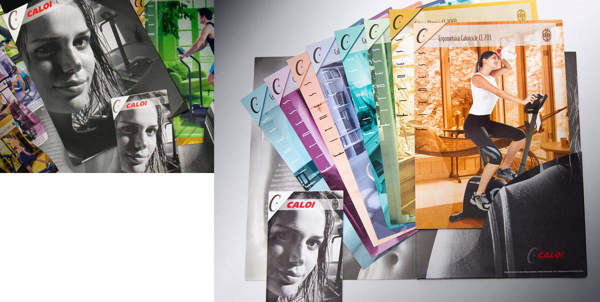 Catálogo de produtos Caloi Fitness 2003