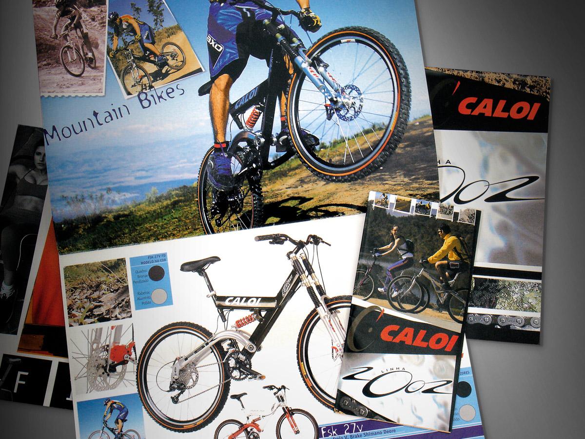 Catálogo Caloi linha 2002