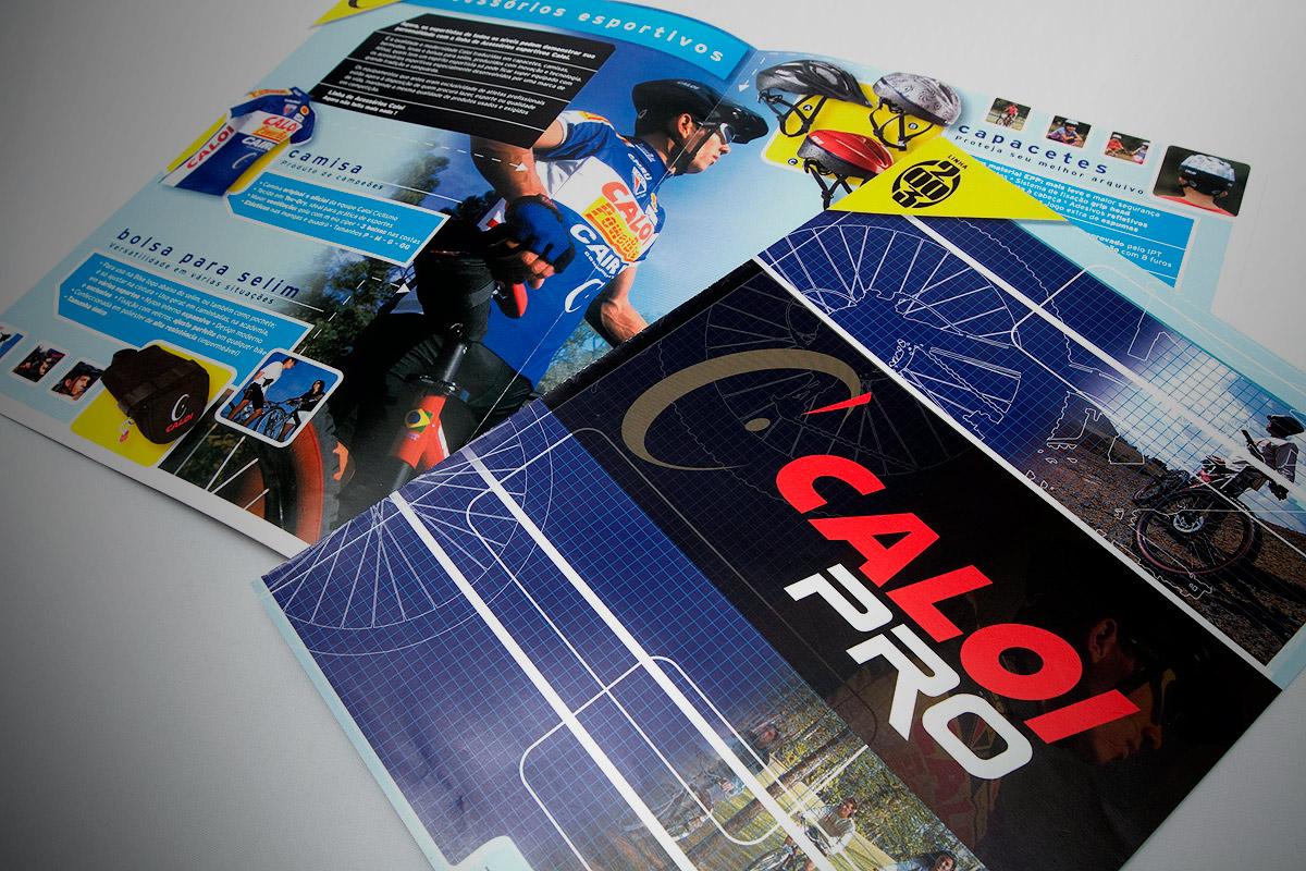 catálogo de acessórios Caloi