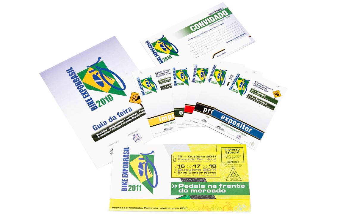 materiais para a Brasil Cycle Fair 2010