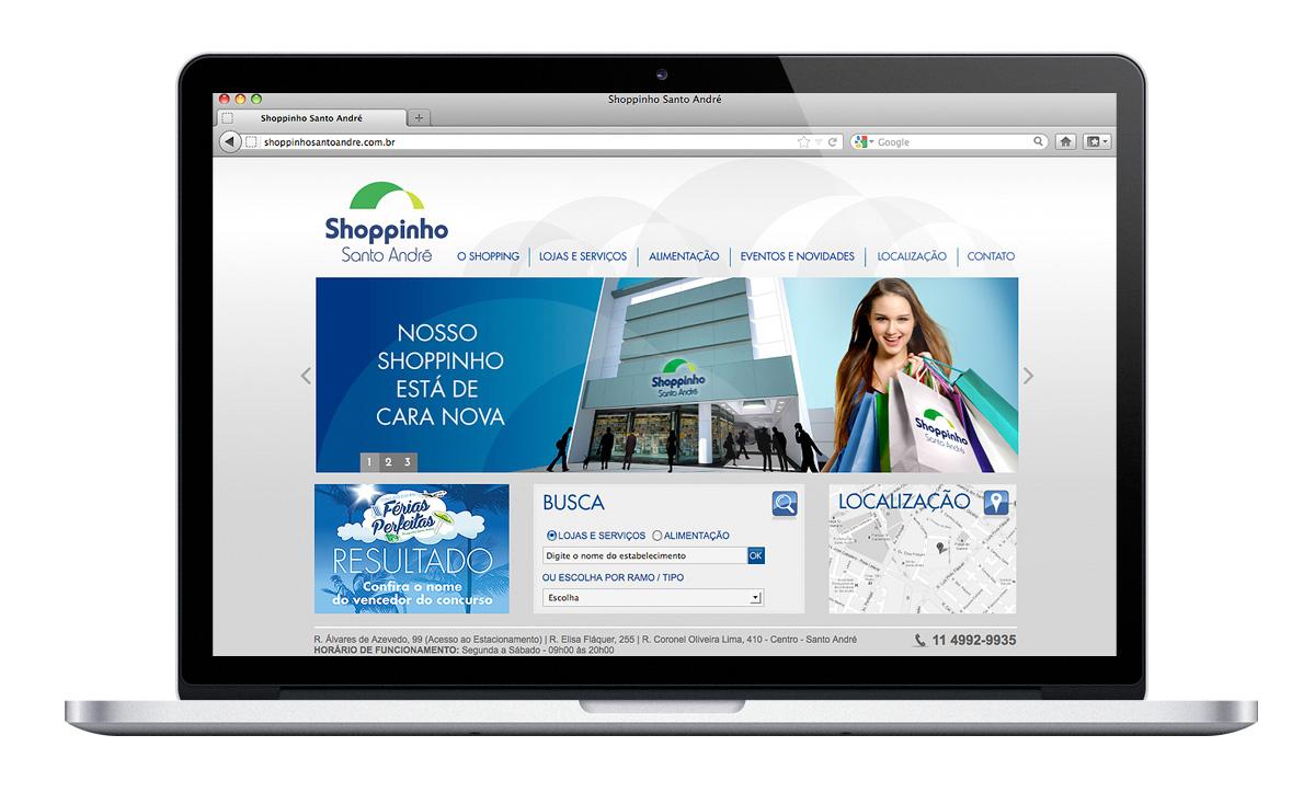 site Shoppinho Santo André